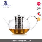 bac neuf de thé en verre de Borosilicate de l'arrivée 1200ml avec l'acier inoxydable Infuser