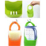 Suporte de esponja de silicone para pia de cozinha