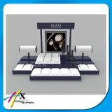 Handgemachter kundenspezifischer Knall-hölzerne Acryluhr-Bildschirmanzeige für das Bekanntmachen