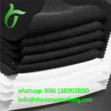 Double DOT Twill tricotado poliéster tecido Interlining para camisa manguito