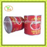 Pasta de tomate enlatada asséptica 400g