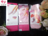 El cuidado de pie del calcetín del gel del hilado de Feater da el calcetín hidratante del gel del BALNEARIO del talón del gel de la piel de la belleza del cuidado con diversos colores