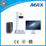 10W 20W 30Wの金属のプラスチックのための携帯用小型ファイバーレーザーのマーキング機械価格