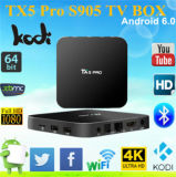 TX5 PRO Smart TV Box Amlogic S905X 2g / 16g Kodi Per-installé Android 6.0 Marshmallow Set Top Box