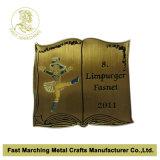 Pin de la solapa del recuerdo del esmalte del metal de la fábrica/divisa suaves