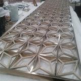 Het Scherpe Metaal die van de laser de Prijs van de Verdeling van de Zaal van het Roestvrij staal van het Scherm vouwen