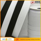 Umweltfreundliches weißes Schwarzes gestricktes elastisches Band mit Nrt Gummi