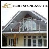 Inferriate di vetro esterne/balaustra dell'acciaio inossidabile degli ss 304 ss 316