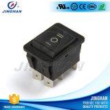 Inverseur à rappel 250V noir durable de la qualité Kcd4-203/D