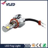 가장 새로운 15W H11 기관자전차 자동 LED 안개 램프, 1200lm 9-16V LED 헤드라이트