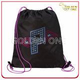 創造的なデザインによって印刷されるナイロンドローストリング袋