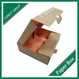 Boîte ondulée imprimée personnalisée bon marché