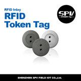 Пассивные знаки внимания билета бирки монетки Hf RFID