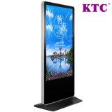 49 Zoll-geöffneter Zellen-ultra dünner DigitalSignage der LCD-Bildschirmanzeige und des Touch Screen