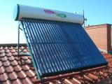 Calentador de agua solar no presurizado (120L) y calefacción por agua solar