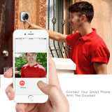 Appareil-photo d'intérieur d'IP de vue mobile visuelle sonore bi-directionnelle sans fil de sonnette de capteur cmos de Doorcam HD 720p de WiFi