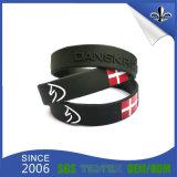 Bracelets faits sur commande bon marché de silicones de silicones d'usine de bracelet en gros d'énergie