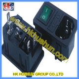 Microsetro com micro interruptor microfone elétrico (JR-121)