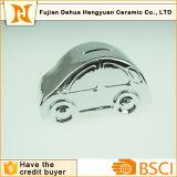 La Banca di moneta di ceramica a forma di dell'automobile di placcatura per il regalo da tavolino