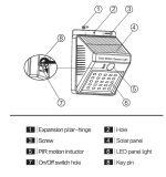 Solar-LED-Fühler-Wand-Licht Hl-2A20