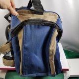 Saco lateral macio removível do equipamento de pesca da caixa da cinta de ombro dos compartimentos grandes