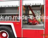 泡の普通消防車、4X2/4X4 FAWの消火活動のトラック