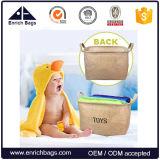 Scomparto ed organizzatore del cestino di memoria con le maniglie per i giocattoli del bambino, giocattoli dei capretti, vestiti del bambino