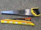 """65mn de alta calidad de acero de 22"""" sierra de mano con el apretón del amortiguador para trabajar la madera"""