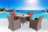 별장 호텔 테라스 안뜰 옥외 1 테이블 및 4개의 의자 5 피스 가구