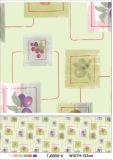 Mantel impreso del PVC del diseño a todo color con Nonwoven/el forro de Spunlace en rodillo