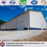 Полуфабрикат мастерская здания стальной рамки для обрабатывать