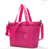 大きい容量ボリュームが付いている多機能のピンクのお母さんのショルダー・バッグ