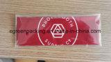 빨간 Microfiber 청소 피복 주문 로고 개별적인 패킹