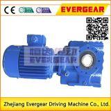 Réducteur hélicoïdal de vitesse de moteur d'engrenage à vis sans fin de série S