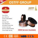 Schweißens-Draht der Qualitäts-Er70s-6 0.8mm 15kg/Spool MIG