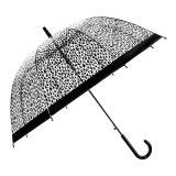 مظلة ترويجيّ بلاستيكيّة واضحة شفّافة