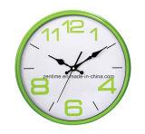 Reloj de pared promocional de moda de cuatro colores con la venta caliente
