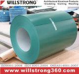 Bobine en aluminium de revêtement coloré en Chine