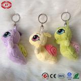 Brinquedo enchido do pato luxuoso animal amarelo En71 Keychain do Fox