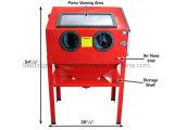 взрывное устройство песка перчаток инструмента воздуха шкафа Sandblast 220L 60gallon