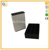 カスタム高品質の黒のボール紙のギフト用の箱