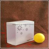 Los fabricantes modificaron el rectángulo plegable plástico de la impresión para requisitos particulares translúcida