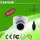 Mini appareil-photo hybride de la garantie Ahd/Cvi/Tvi/Analog/Sdi HD de dôme de couleur de télévision en circuit fermé