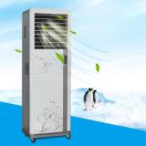 Populaire dans le refroidisseur industriel évaporatif portatif de ventilateur de l'eau d'ailette de l'Inde