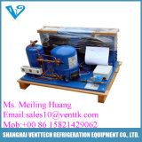 Unité de compresseur et de condensation à froid ou à froid