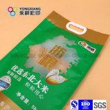 Sacchetto personalizzato formato di imballaggio di plastica del riso con la maniglia