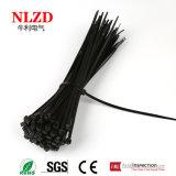 """UV bestand zwarte Lengte 4 van kabelbanden """" - 40 """""""