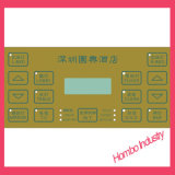 Membranschalter mit LCD-Fenster