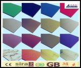 Painel composto de alumínio lustroso elevado de PE/PVDF Acm/ACP