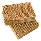 A pilha refrigerando das aves domésticas da almofada refrigerar evaporativo do pente do mel acolchoa